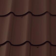 М28 PE-полиэстер Arcelor RAL 8017 - коричневый