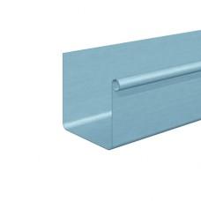 Желоб подвесной квадратный 0,7 мм, L=3 м RHEINZINK TZ-титан-цинк 120 (333)/100 мм prePATINA Schiefergrau